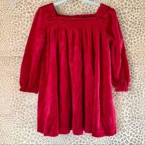 ♥️Ralph Lauren♥️Red Velvet Dress, size 24 months